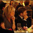 Laurence Ferrari et Renaud Capuçon à l'occasion du récital à quatre mains donné par Hélène Mercier-Arnault et Brigitte Engerer au profit de la Fondation Recherche Cardio-Vasculaire-Institut de France, à l'hôtel Marcel Dassault, le 9 novembre 2011
