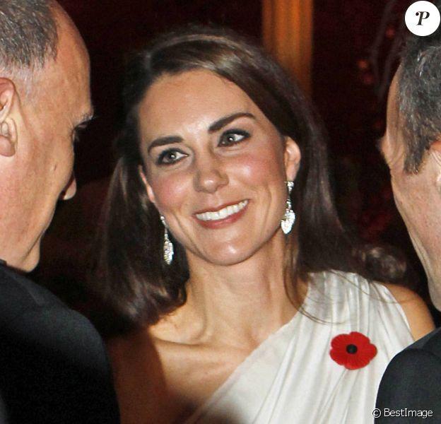Le Prince William et Kate Middleton à la soirée de gala au profit du National Memorial Arboretum Appeal au Saint James Palace, le 10 novembre 2011