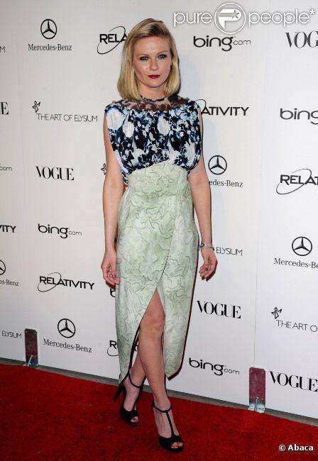 Kirsten Dunst, le 15 janvier 2011 à Los Angeles.