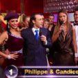 Philippe Candeloro et Candice dans la finale de Danse avec les stars 2, samedi 19 novembre 2011, sur TF1