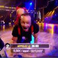 Philippe Candeloro et Candice dans la finale de Danse avec les stars 2, samedi 19 novembre 2011 sur TF1