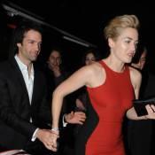 Kate Winslet : A Paris, elle ne lâche pas son amoureux