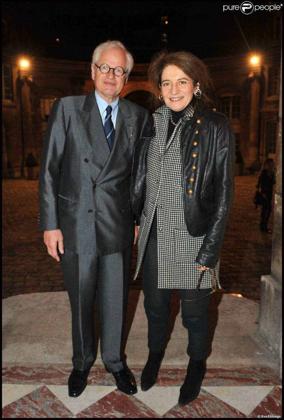 Bernard Fixot lors de la décoration, par Gilles Jacob, d'Albina du Boisrouvray, à la  Maison de l'Amérique Latine, à Paris, le 21 novembre 2011.