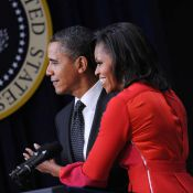 Michelle Obama, exceptionnelle de naturel : sa gaffe devant Barack Obama
