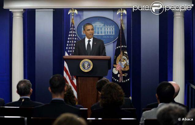 Barack obama s 39 adresse aux journalistes dans la press room for Adresse de la maison blanche
