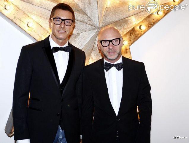 Domenico Dolce et Stefano Gabbana