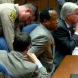 Conrad Murray lors du dernier jour de son procès le 7 novembre 2011 à Los Angeles