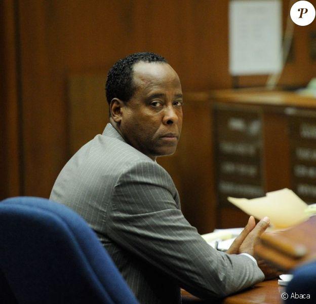 Conrad Murray lors du dernier jour de son procès le 1 novembre 2011 à Los Angeles