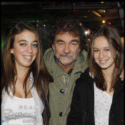 Olivier Marchal avec ses filles, premières fans de leur papa