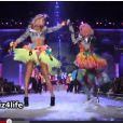 Nicki Minaj lors de sa prestation au défilé Victoria's Secret