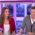 """""""Jeny Priez et Mathieu Delormeau sur le plateau des Anges de la télé-réalité 3 - Le Mag, jeudi 1 décembre 2011 sur NRJ 12"""""""