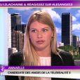"""""""Annaëlle sur le plateau des Anges de la télé-réalité 3 - Le Mag, jeudi 1 décembre 2011 sur NRJ 12"""""""