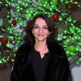 Nathalie Rykiel à l'hôtel de Rothschild le 1er décembre 2011 pour l'inauguration de la 16e édition des Sapins de Nöel des créateurs