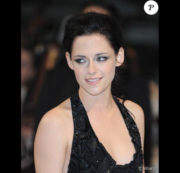Kristen Stewart, à Londres le 16 novembre 2011.