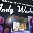 Lancement de la collection Andy Warhol de la Monnaie de Paris, au Centre Georges Pompidou à Paris, le 8 décembre 2011.