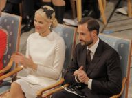 Haakon et Mette-Marit en admiration devant les lauréates du Nobel de la paix