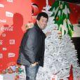 Stéphane Plaza lors d'une soirée au profit de l'association Petits  Princes et de  lancement du train rouge Coca Cola, le 15 décembre 2011, à  Paris