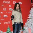 Melissa Mars lors d'une soirée au profit de l'association Petits  Princes et de  lancement du train rouge Coca Cola, le 15 décembre 2011, à  Paris