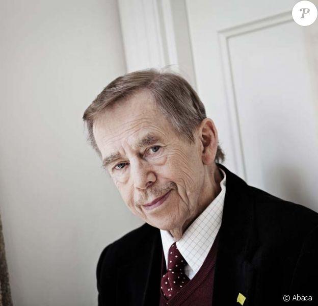 Václav Havel à Prague, mai 2011.