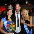 Zelko bien accompagné lors de l'élection de Miss Nationale 2012 à Pau Brasil à Paris, le 18 décembre 2011