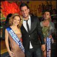Zelko en bonne compagnie lors de l'élection de Miss Nationale 2012 à Pau Brasil à Paris, le 18 décembre 2011