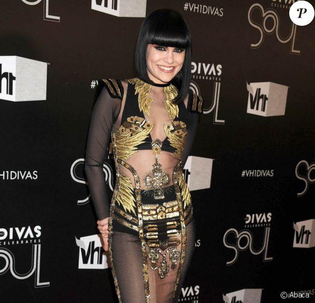 Jessie J lors de la soirée VH1's Divas Celebrates Soul, à New York, le 18 décembre 2011.