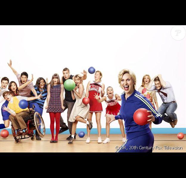 Toute l'équipe de Glee