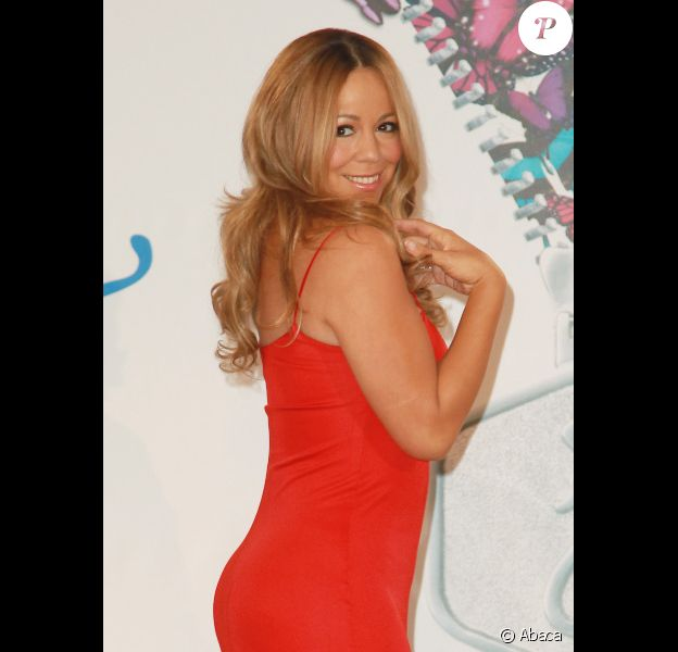Mariah Carey le 9 novembre 2011 à New York