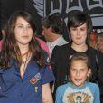 Les filles de Bruce Willis et Demi Moore, Scout, Rumer et Tallulah, en 2005 lors de l'avant-première des Seigneurs de Dogtown