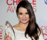Lea Michele lors des People's choice Awards, le 11 janvier 2012, à Los Angeles