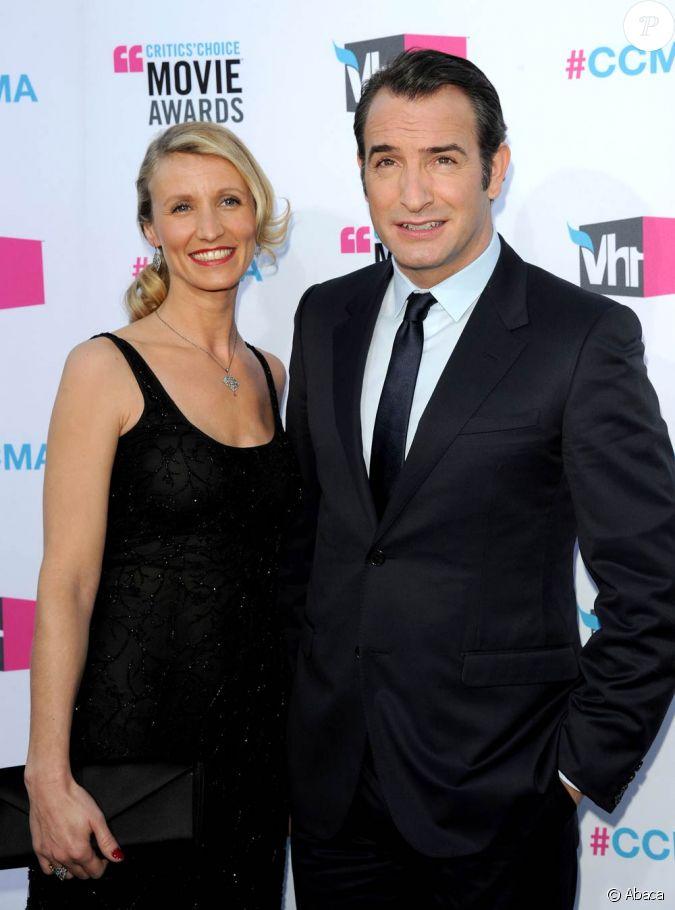 Jean dujardin et alexandra lamy couple flamboyant durant for Jean dujardin en couple