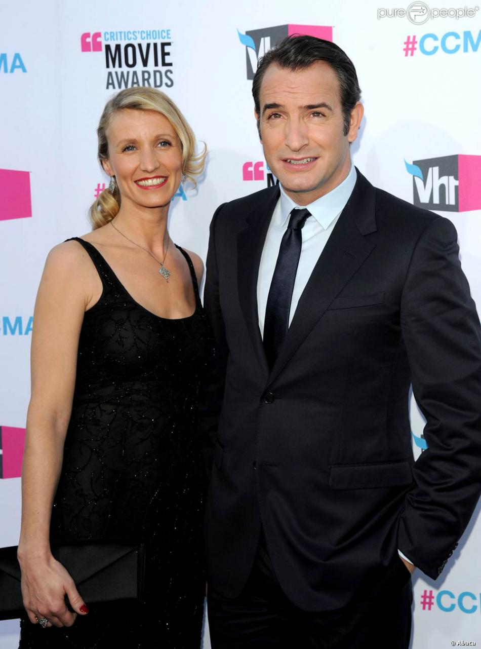 Jean dujardin et alexandra lamy couple flamboyant durant for Jean dujardin couple 2014