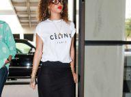 Rihanna : La starlette voyage en mode geek et chic... On adore