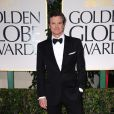 Colin Firth aux Golden Globes, le 15 janvier 2012 à Los Angeles.