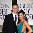Channing Tatum et Jenna Dewan-Tatum aux Golden Globes, le 15 janvier 2012 à Los Angeles.