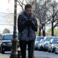 Irina Shayk, stylée dans le quartier de West Village à New York, le 16 janvier 2012.