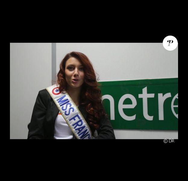 Delphine Wespiser se confie au site de Metro