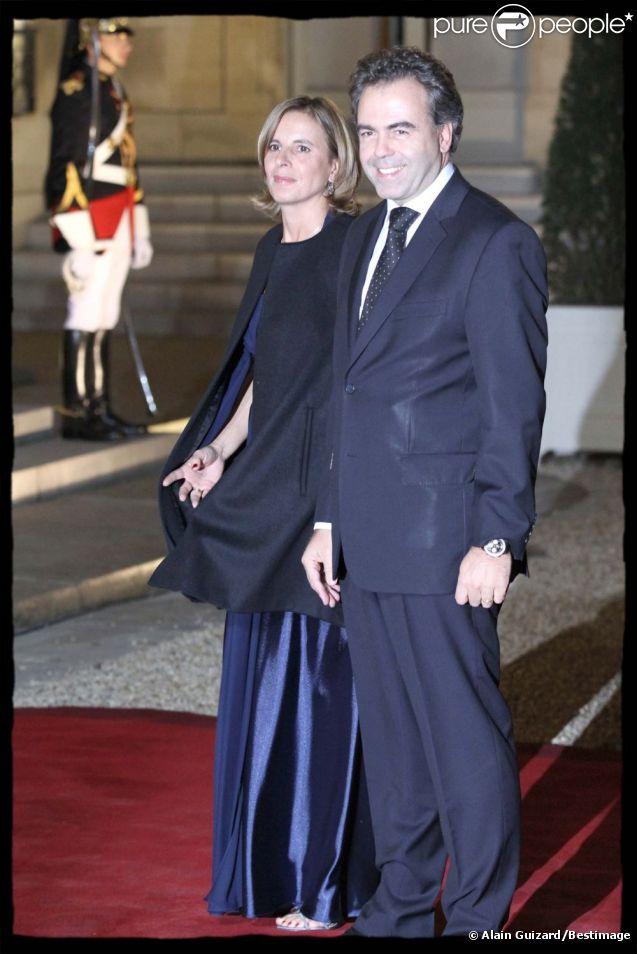 Luc Chatel et Astrid Herrenschmidt en novembre 2010