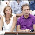 Luc Chatel accompagné de son épouse Astrid Herrenschmidt en juin 2010
