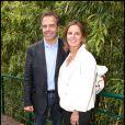 Luc Chatel accompagné de son épouse Astrid Herrenschmidt en juin 2011