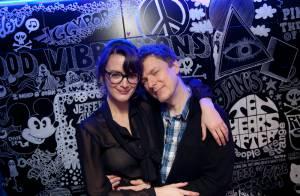 Charlotte Le Bon et Michel Gondry complices sous les yeux de Lolita Lempicka