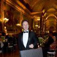 Stéphane Bern lors de la soirée de gala au château de Versailles, au profit de l'association AVEC (Association pour la vie espoir contre le cancer), le 30 janvier 2012