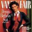 Demi Moore en couverture de Vanity Fair en 1992.