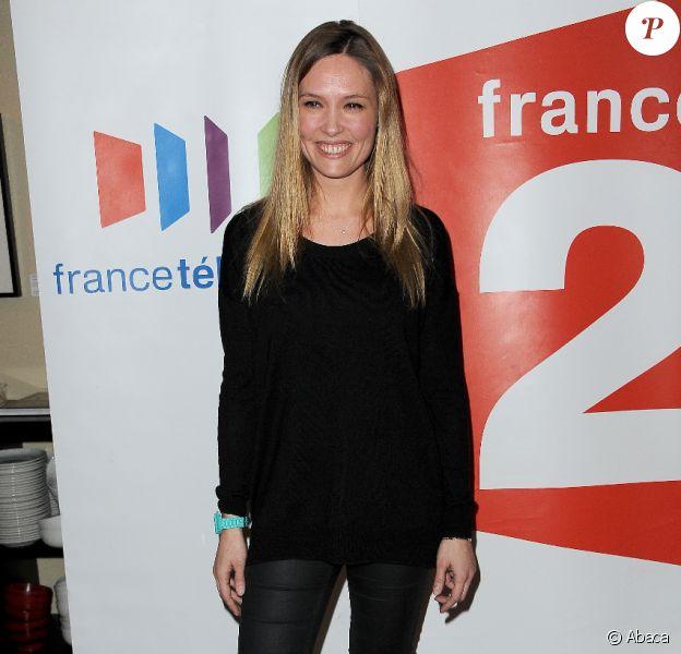 Lilou Fogli lors de l'avant-première de la série Des soucis et des hommes, au cinéma de l'Odéon, jeudi 9 février 2012