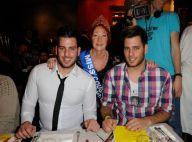 Rudy, Sabrina, Zelko et Zarko de Secret Story 5 : Tous fans de Miss Cougar 2012