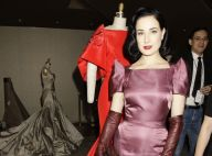Dita Von Teese joue la pin-up pour réchauffer New York