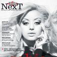 Zahia Dehar en couverture de Next, supplément de Libération en kiosque le samedi 4 février 2012