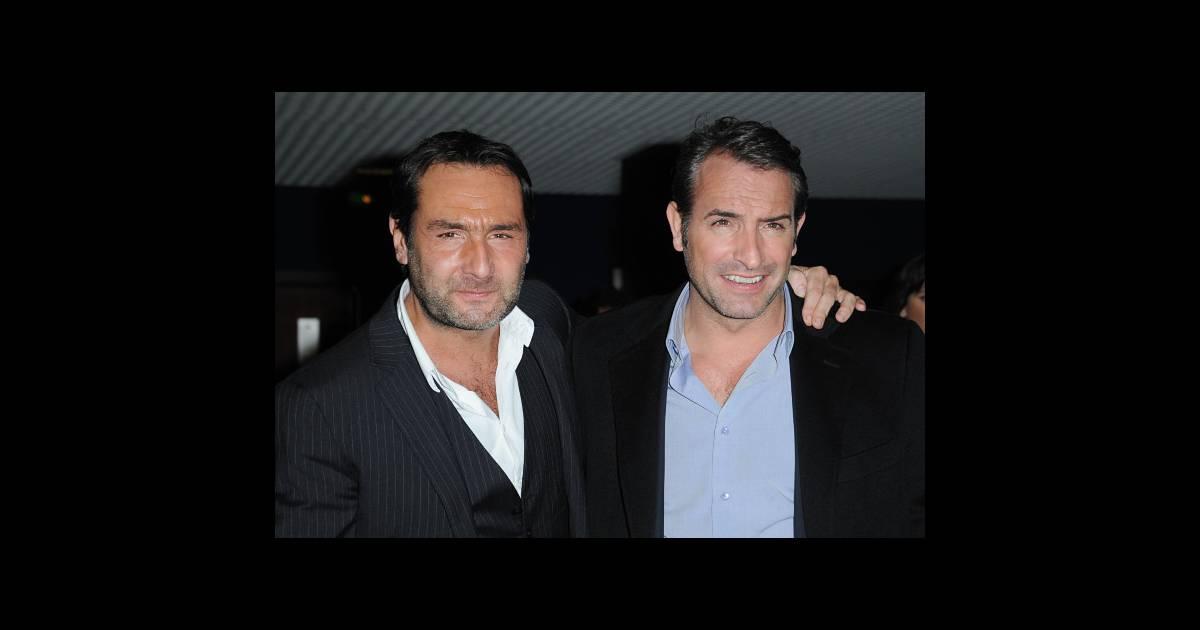 Gilles lellouche et jean dujardin le 14 f vrier 2012 for Jean dujardin famille