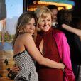 Jennifer Aniston et Malin Akerman à la première de Wanderlust à Los Angeles. Le 16 février 2012