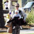Pink et sa fille Willow ont passé l'après-midi du samedi 18 février en tête à tête sous le soleil de Malibu.